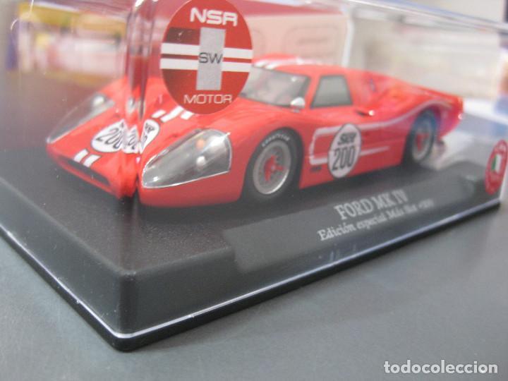 Slot Cars: FORD MK IV EDICION ESPECIAL MAS SLOT SOLO 200 UNIDADES DE NSR - Foto 4 - 154945298