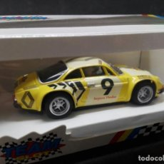 Slot Cars: COCHE SCALEXTRIC RENAULT-ALPINE A110 TEAM SLOT. Lote 157778698