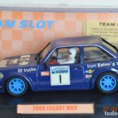 Slot Cars: TEAM SLOT MKII. Lote 158113402