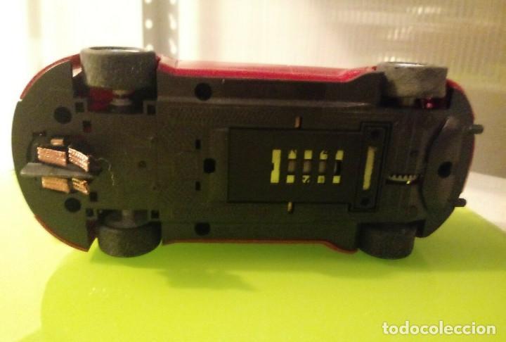 Slot Cars: Coche SCX Slot sin pegatinas Seat Leon rojo wtcc - Foto 3 - 162041178
