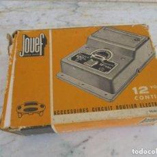 Slot Cars: TRAFO CIRCUIT ROUTIER DE JOUEF. Lote 163313146