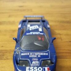 Slot Cars: COCHE SCALEXTRIC SCX MATCHBOX BUGATTI EB-110 ESSO Nº34. Lote 166211818