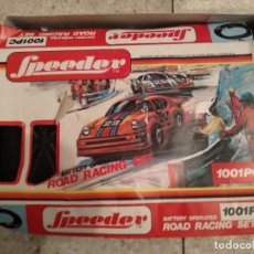 Slot Cars: JUEGO DE SLOT SPEEDER ROAD RACING SET. Lote 166626830