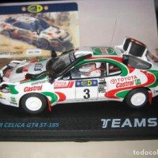 Slot Cars: SRE013 - TOYOTA CELICA GT-4 RALLY SAFARI 95 DE TEAM SLOT. Lote 170114450