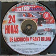 Slot Cars: VCD DE 24 HORAS DE SLOT MINI AUTO DE ALCORCON Y SANT CELONI. Lote 170196416