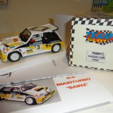 Slot Cars: TEAM SLOT. RENAULT 5 MAXI TURBO. CARLOS SAINZ. REF. 70501. Lote 171554275