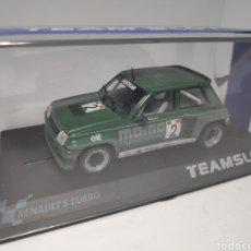 Slot Cars: TEAM SLOT RENAULT 5 COPA TURBO MOMO REF. 12001. Lote 171991910