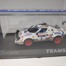 Slot Cars: TEAM SLOT LANCIA STRATOS ROTHMANS RACE 1981 REF. 11511. Lote 172155232