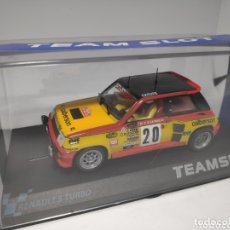 Slot Cars: TEAM SLOT RENAULT 5 TURBO CALBERSON REF. 11802. Lote 172159030