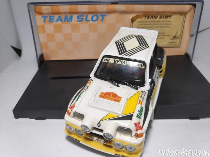 Slot Cars: TEAM SLOT RENAULT 5 MAXITURBO SAINZ RESINA REF. 70501 Edición limitada - Foto 2 - 172160077