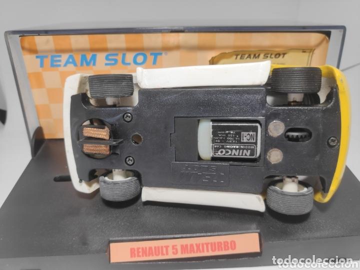 Slot Cars: TEAM SLOT RENAULT 5 MAXITURBO SAINZ RESINA REF. 70501 Edición limitada - Foto 3 - 172160077