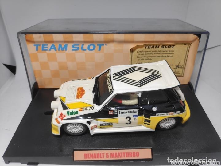 TEAM SLOT RENAULT 5 MAXITURBO SAINZ RESINA REF. 70501 EDICIÓN LIMITADA (Juguetes - Slot Cars - Team Slot)
