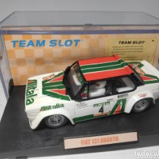 Slot Cars: TEAM SLOT FIAT 131 ABARTH ALITALIA RESINA REF. 70602. Lote 211924713