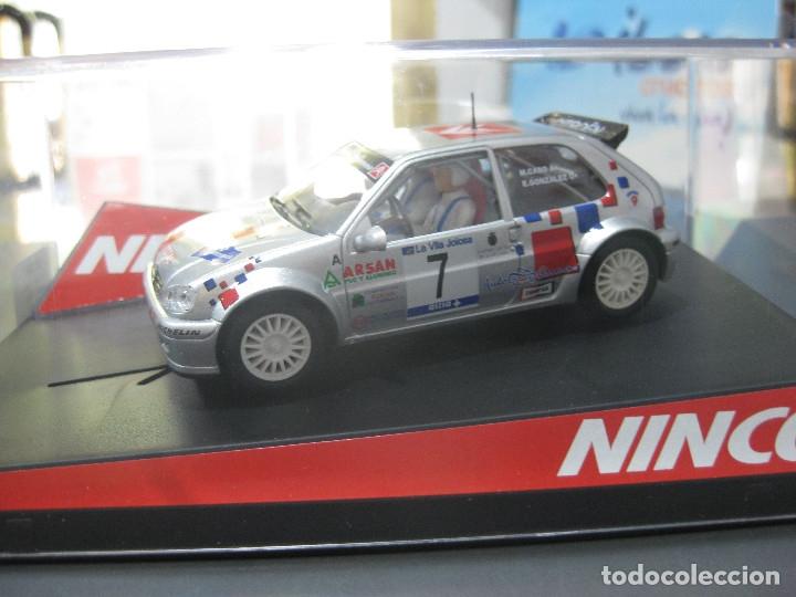 50299 - CITROEN SAXO SUPER 1600 DE M. CABO RALLY DE VILLAJOYOSA DE NINCO (Juguetes - Slot Cars - Team Slot)