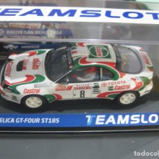 Slot Cars: 11709 - TOYOTA CELICA GT-4 RALLY SAN REMO 94 DE TEAM SLOT. Lote 186241675