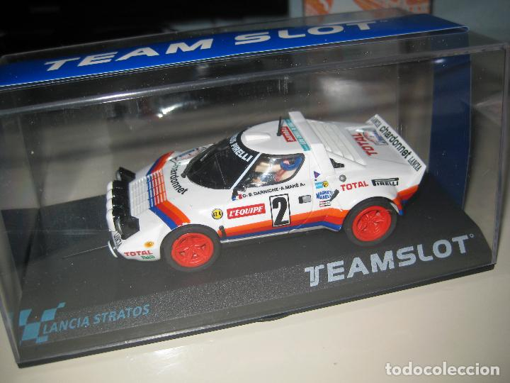 11513 - LANCIA STRATOS TOUR DE FRANCE 1980 DE TEAM SLOT (Juguetes - Slot Cars - Team Slot)