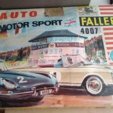 Slot Cars: ANTIGUA CAJA DE COCHES SCALEXTRIC DE LA MARCA FALLER AUTO MOTOR SPORT REF 4007. Lote 182839673