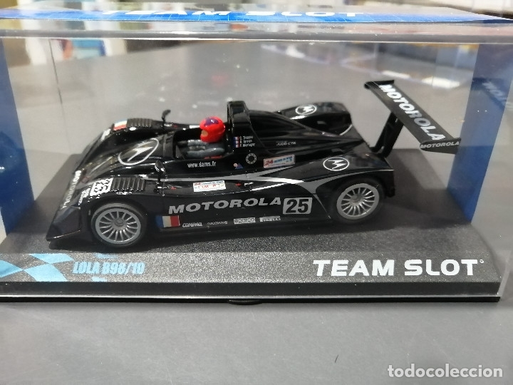 11402 - LOLA B98 MOTOROLA DE LAS 24 HORAS DE LE MANS 1999 DE TEAM SLOT (Juguetes - Slot Cars - Team Slot)