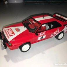 Slot Cars: AUDI QUATTRO MAS SLOT DE TEAM SLOT. Lote 186151790