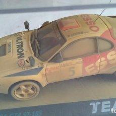 Slot Cars: TEAM SLOT TOYOTA CELICA GT 4 ESSO, EFECTO ARENA.NUEVO, EN URNA,VÁLIDO SCALEXTRIC,NINCO,ETC.. Lote 186356580