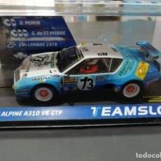 Slot Cars: NOVEDAD - 12802 - ALPINE A310 V6 GTP 24H. LE MANS 1978 DE TEAM SLOT. Lote 187330435