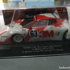 Slot Cars: OFERTA - SW47- 512BB /LM 3M Nº63 LE MANS 1979 DE SIDEWAYS. Lote 188278981