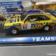Slot Cars: 12707 - FORD ESCORT MKII RS2001000 LAKES RALLY 79 DE TEAM SLOT. Lote 188621717