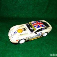 Slot Cars: LOTE OFERTA COCHE SLOT CAR - COCHE DE PISTA TIPO SCALEXTRIC 1/32 - HORNBY - TVR T400R. Lote 189520356