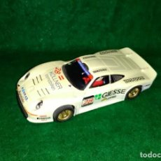 Slot Cars: LOTE COCHE SLOT CAR - COCHE DE PISTA TIPO SCALEXTRIC - HORNBY - PORSCHE 911 GT1 - MADE ENGLAND. Lote 189520687