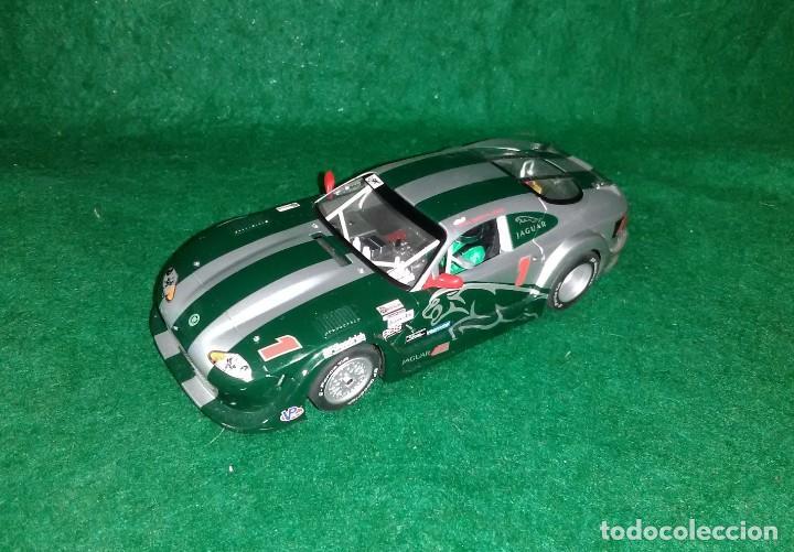 LOTE COCHE SLOT CAR - COCHE DE PISTA TIPO SCALEXTRIC - HORNBY - JAGUAR XKRS (Juguetes - Slot Cars - Team Slot)