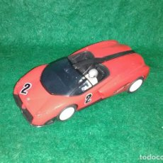 Slot Cars: LOTE COCHE SLOT CAR - COCHE DE PISTA TIPO SCALEXTRIC - SLOT PROTEUS HEULIEZ PREGUNTA - MADE IN SPAIN. Lote 189521210