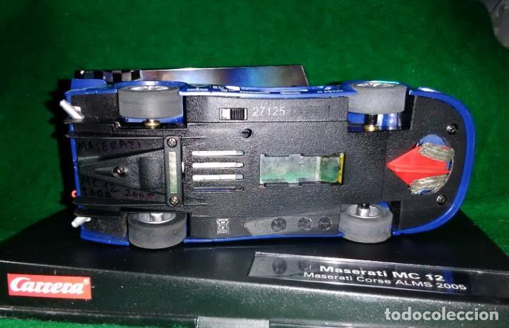 Slot Cars: LOTE OFERTA COCHE SLOT CAR - COCHE DE PISTA TIPO SCALEXTRIC - CARRERA - MASERATI MC 12 - CORSE 2005 - Foto 3 - 208482223