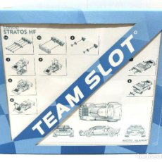 Slot Cars: KIT BLANCO DE LANCIA STRATOS - TEAM SLOT. Lote 189530565