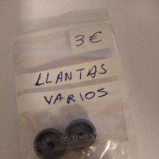 Slot Cars: SCALEXTRIC PAR LLANTAS SLOT VARIOS MODELOS. Lote 190019775
