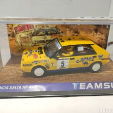 Slot Cars: TEAM SLOT LANCIA DELTA HF 4WD RALLYE CATALUNYA C.BRAVA 1988 REF. SRE23 EDICIÓN LIMITADA 250 UNIDADES. Lote 203927142