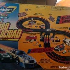 Slot Cars: MICROMACHINES CIRCUITO DE TURBO VELOCIDAD. Lote 192979297