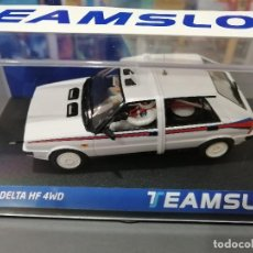 Slot Cars: 12903 - LANCIA DELTA HF4WD TEST CAR MARTINI DE TEAM SLOT. Lote 193575288