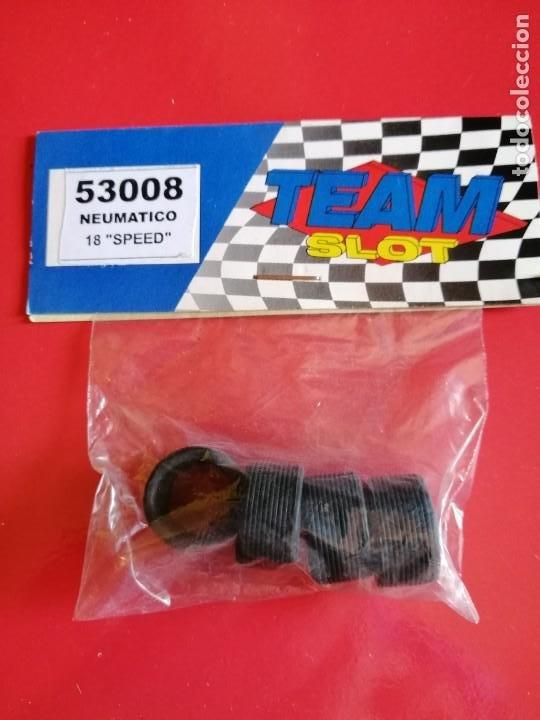 TEAM SLOT JUEGO NEUMATICOS SPEED 18 X 9.5 NUEVOS (Juguetes - Slot Cars - Team Slot)