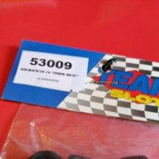 Slot Cars: TEAM SLOT JUEGO NEUMATICOS PERFIL BAJO 18 X 9.5 PERFIL BAJO NUEVOS. Lote 193629225
