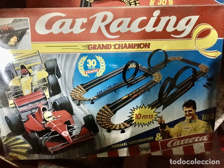 CAR RACING (CARRERA) GRAND CHAMPION (Juguetes - Slot Cars - Team Slot)