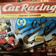 Slot Cars: CAR RACING (CARRERA) GRAND CHAMPION. Lote 193667517