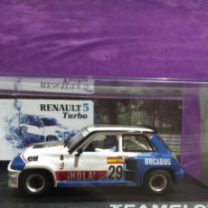Slot Cars: RENAULT 5 TURBO TEAMSLOT. Lote 194085642