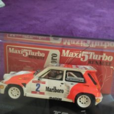 Slot Cars: RENAULT MAXI 5 TURBO..... Lote 194128670