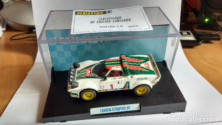 SLOT LANCIA STRATOS HF TEAM (Juguetes - Slot Cars - Team Slot)