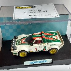 Slot Cars: SLOT LANCIA STRATOS HF TEAM. Lote 194506281