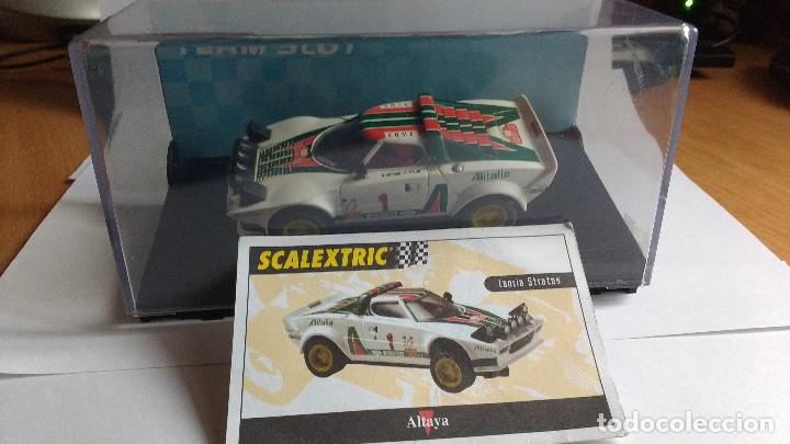 Slot Cars: SLOT LANCIA STRATOS HF TEAM - Foto 2 - 194506281