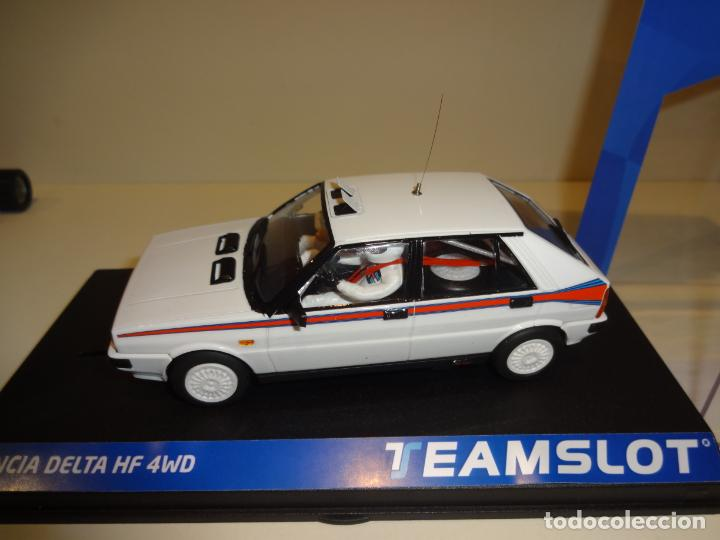Slot Cars: TEAM SLOT. Lancia Delta HF4W. Test Car Martini. Ref. 12903. Novedad !! - Foto 3 - 194534706