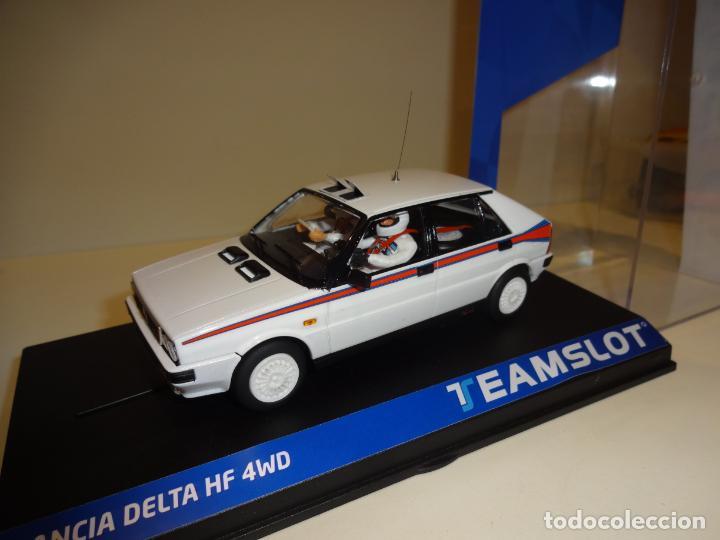 Slot Cars: TEAM SLOT. Lancia Delta HF4W. Test Car Martini. Ref. 12903. Novedad !! - Foto 4 - 194534706