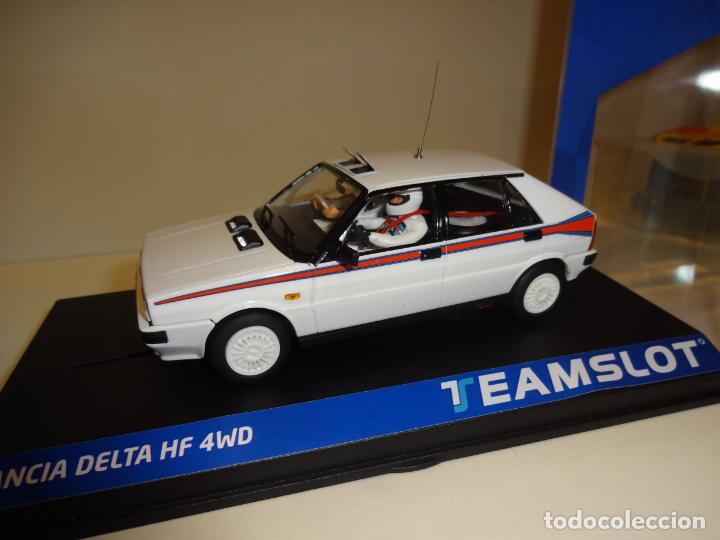 TEAM SLOT. LANCIA DELTA HF4W. TEST CAR MARTINI. REF. 12903. NOVEDAD !! (Juguetes - Slot Cars - Team Slot)