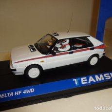 Slot Cars: TEAM SLOT. LANCIA DELTA HF4W. TEST CAR MARTINI. REF. 12903. NOVEDAD !!. Lote 194534706
